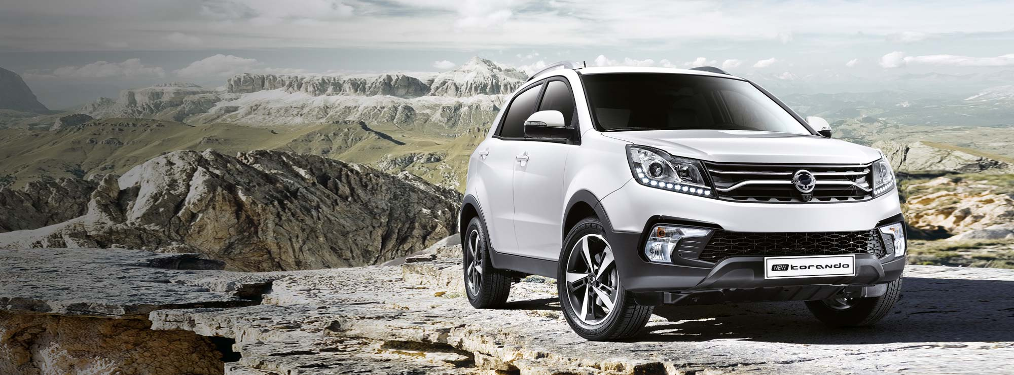 Korando From £15,995